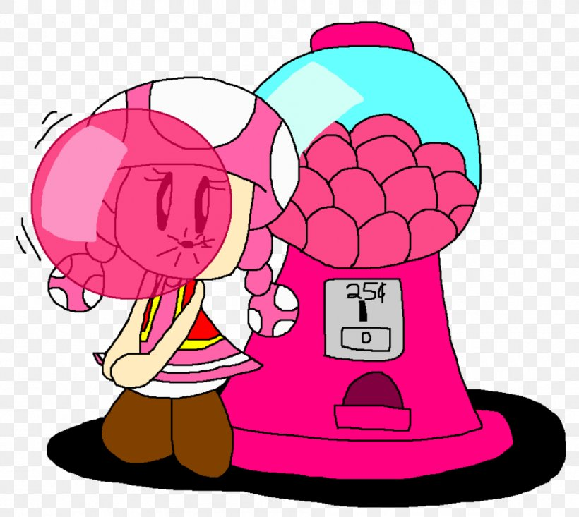 Gumball Clipart Red - Bubble Gum Machine Cartoon - Free Transparent PNG  Clipart Images Download