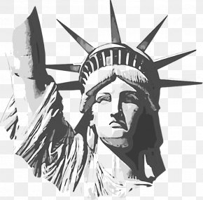 Liberty Tax - Statue Of Liberty National Monument Clip Art Image Drawing PNG