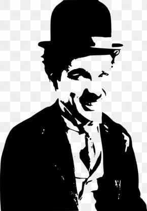 Charlie Chaplin - The Tramp Quotation Smile Film Director Comedian PNG