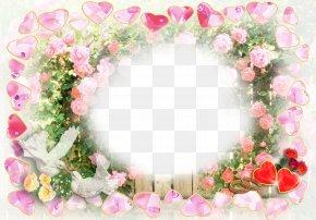 Wedding - Wedding Invitation Picture Frames Floral Design Wedding Photography PNG