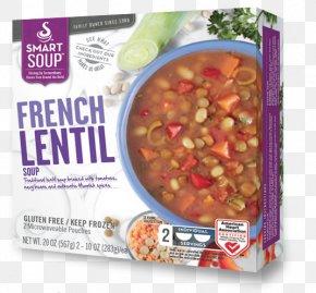 Lentil Soup - Vegetarian Cuisine Recipe Convenience Food Dish PNG