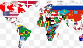 World Map - World Map The Power Of Maps United States PNG