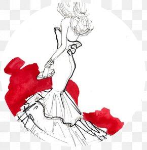 Dress - Dress Drawing Fashion Illustration Sketch PNG