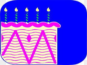 Free Cake Pictures - Birthday Cake Candle Clip Art PNG