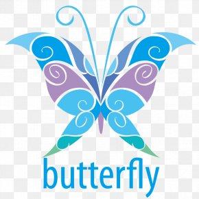 Cartoon Vector Butterfly Material - Butterfly Logo Euclidean Vector Illustration PNG