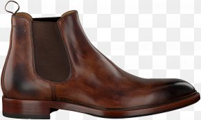 Carved Leather Shoes - Chelsea Boot Shoe Leather Brown PNG