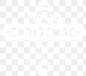 Merry Christmas Deco Text Clip Art Image - Black And White Point Angle Pattern PNG