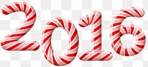 2016 Candy Cane Clip-Art Image - Candy Cane Stick Candy Christmas Clip Art PNG