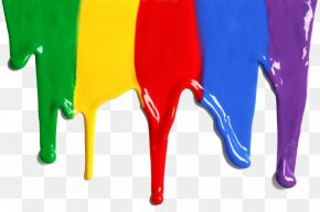 Color Drop - Drip Painting Watercolor Painting Mural PNG