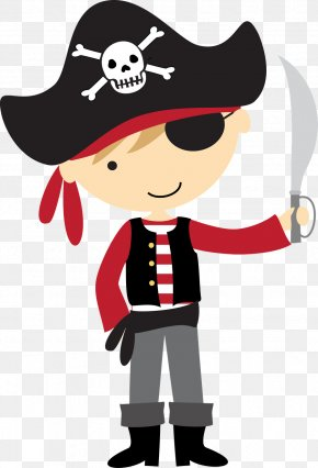Pirate PNG - Children's Party Birthday Piracy Banner PNG