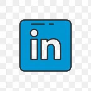 Social Media Button - Social Media Logo LinkedIn PNG