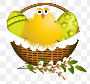 Easter - Easter Chicken Clip Art PNG