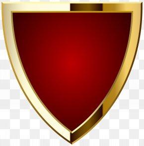 Red Badge Transparent Clip Art Image - Label Logo Clip Art PNG