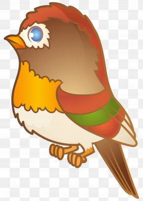 Brown Cartoon Bird Transparent Image - Image File Formats Lossless Compression PNG