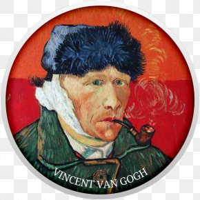 Vincent Van Gogh - Vincent Van Gogh Self-Portrait With Bandaged Ear And Pipe Van Gogh Self-portrait The Potato Eaters PNG
