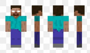 Minecraft Pocket - Minecraft: Pocket Edition Herobrine Video Game Skin PNG