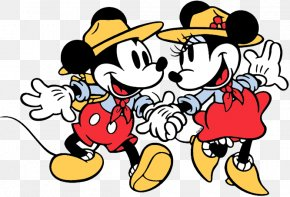 Classic Mickey Mouse - Minnie Mouse Mickey Mouse Clip Art Pluto Goofy PNG