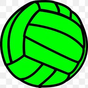 Neon Cross Cliparts - Beach Volleyball Sport Clip Art PNG