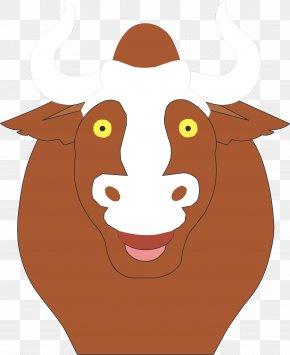 Cow Vector - Bull Terrier Pit Bull Bulldog Cattle PNG