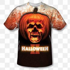 T-shirt - T-shirt Michael Myers Halloween Film Series Poster PNG