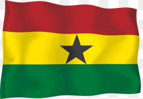Flag - Flag Of Ghana Flag Of Ghana Flag Of Senegal T-shirt PNG