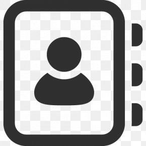 Address Book Icon Mono Business Icons 2 SoftIconsm - Address Book Telephone Directory PNG