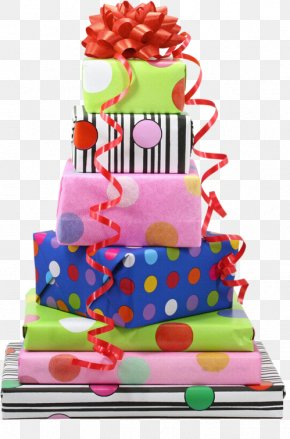 Gift - Gift Wrapping Happy Birthday Greeting & Note Cards PNG