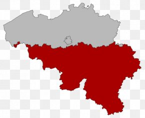 Map - Flemish Region Provinces Of Belgium Walloon Brabant Brussels Map PNG