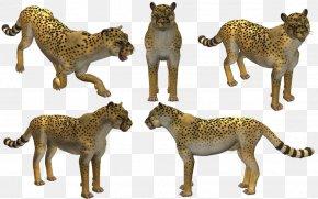 Cheetah - Spore Creatures Cheetah Video Game Lion PNG