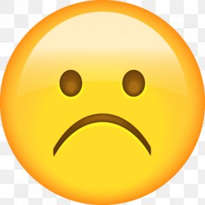 Sad - Sadness Smiley Emoji Emoticon Face PNG