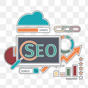SEO Internet Business Icon Picture - Search Engine Optimization Stock Illustration Icon PNG