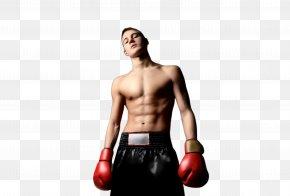 Boxing Equipment Abdomen - Boxing Glove PNG