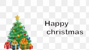 Christmas Framework - Christmas Tree Santa Claus Christmas Decoration Clip Art PNG
