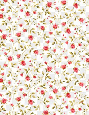 Rose Pattern - Flower Floral Design Paper Pattern PNG