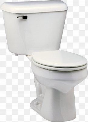 Toilet - Flush Toilet Plumbing Fixture Bathroom Board Toilet PNG