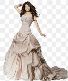 Wedding Dress Transparent Background - Alex Russo Wedding Dress Come & Get It Bride PNG