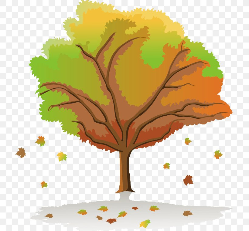 Drawing Season Tree Painting, PNG, 719x761px, Drawing, Art, Autumn, Branch, Flowering Plant Download Free