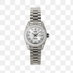 Diamond Bezel - Rolex Datejust Automatic Watch TAG Heuer PNG