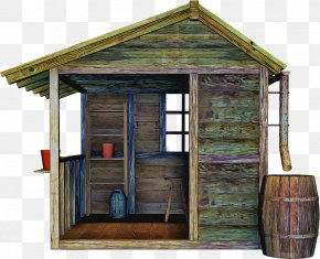House Outhouse - Shed Building Log Cabin Shack Garden Buildings PNG