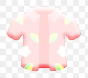 Magenta Jacket - Shirt Icon Tropical Icon PNG