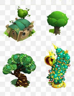Version Tree Fairy Tree House - Tree House Fairy Tale PNG