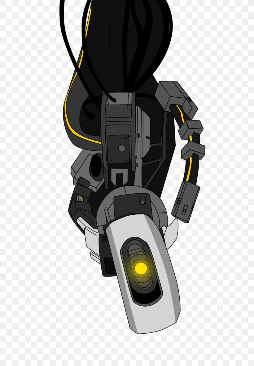 Portal 2 Glados Wheatley Video Game Png 677x1178px Portal