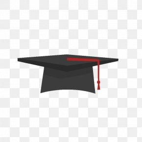 Graduation Cap - Square Academic Cap Graduation Ceremony Flat Design PNG