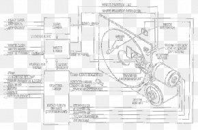 Atari Sa - Technical Drawing Paper Sketch PNG