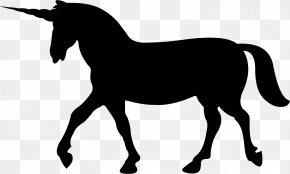 Unicorn - Unicorn Silhouette Horse Clip Art PNG