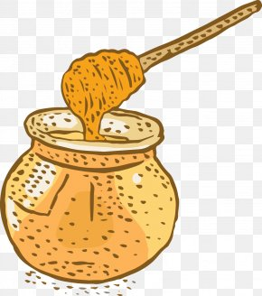 Vector Honey Jar - Honey Jar Euclidean Vector PNG