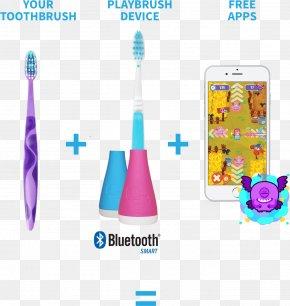 Toothbrush - Electric Toothbrush Tooth Brushing Playbrush PNG