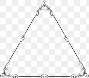 Elegant Frame - Triangle Point PNG