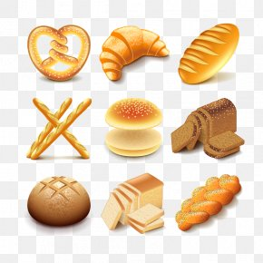 Bread - Bagel Baguette Bakery Rye Bread Croissant PNG