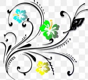 Design - Floral Design Drawing Interior Design Services Clip Art PNG